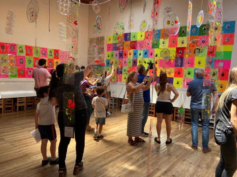 Muestra de Arte en Educación Inicial