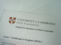 Certificado Cambridge